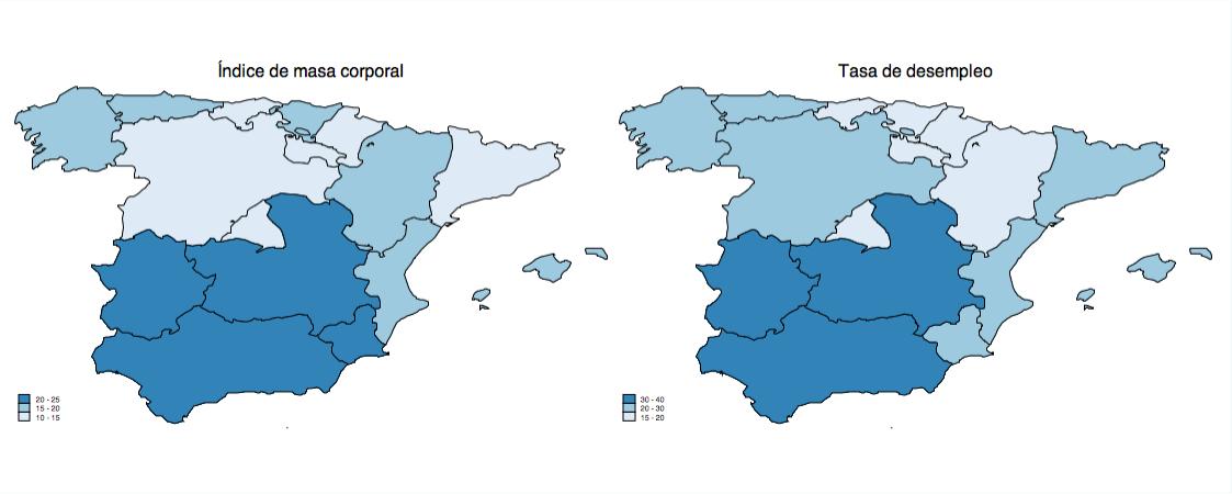 Fuente: Encuesta de Población Activa (2013) y Encuesta Nacional de Salud (2012)